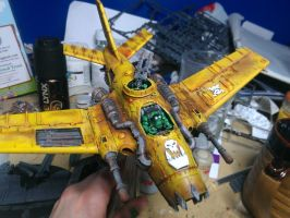 ork bomber by thedemonjuice