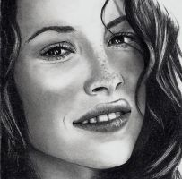 Evangeline Lilly - Kate LOST by Rick-Kills-Pencils