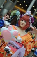 Anime Expo 2013 : Faces of Cosplay_0877 by JuniorAfro