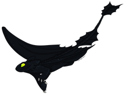 Toothless by CatnipPacket