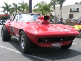 Chevrolet Corvette C2 Sting Ray Drag Car 1 by granturismomh