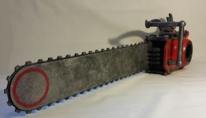 Grell Sutcliff's chainsaw (kuroshitsuji) by RPG-Creations