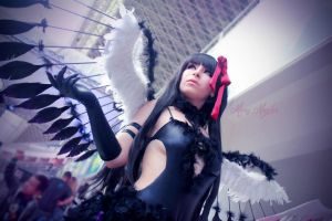 Devil Homura by MaryMagika
