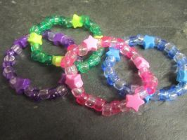 Matching Star Kandi Bundle by Yaki-Kodauze