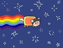 Ludolik Nyan Cat by Zjenka