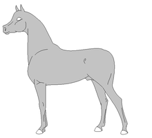 Arabian Lineart Ms Paint Friendly by LittleLace