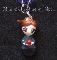 Edward Cullen Apple by Shielou