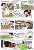 a Lizzy comic I by Chocoreaper