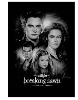 Twilight Breaking Dawn Part 2 mini Poster by rampantimaginationA