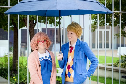 Kyoukai no Kanata: How Unpleasant by YamaCos