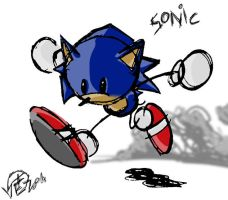 Stick Sonic by Swirlything