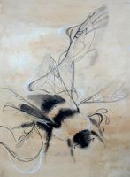 Abstract Bumble by oO-Fotisha-Oo
