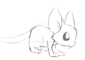 Mouse Sketch by GaneneTheDefendra
