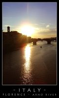 Italy - Florence - Arno river by dark-spider