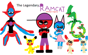 The Legendary Ramcat Deoxys Legacy by carmenramcat