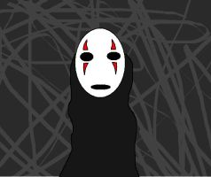 No Face by aquaheartthecat