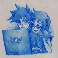 Homestuck- BOTH3R BOTH3R BOTH3R by mingming07