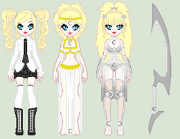 Silver Moon - Melody Reference (WIP Updated Bio) by LittleAlyce