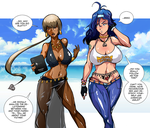 Harmoneeka - When Freud comes to the beach by TirNaNogIndustries