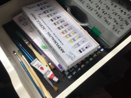 Painting drawer by JennyRichardBlakina