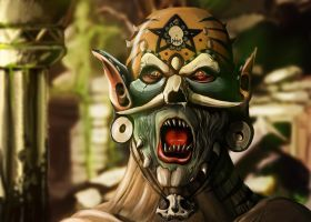 Witch Doctor by styltre