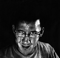 Raspy Hill (Markiplier Portrait. Pencil) by qaimnaqvi