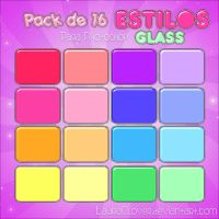 Pack de Estilos Glass by LauraClover