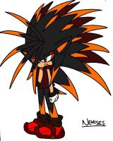 Nemesis the hedgehog by GamistTH