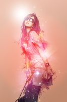 Fashion Girl Light star by Citronade-Arts