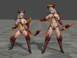 DOA5 Phase 4 Costume 34 Gust Mashup 2 by rolance
