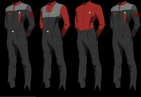 Epsilon Force Uniforms Type 1 by Wolfcrest1701