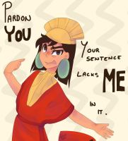 Kuzco by Drawing-Heart