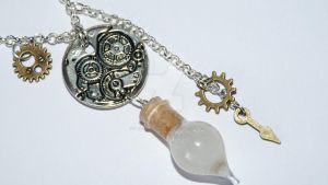 Steam Necklace by Narwhal-Blueberry