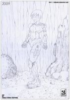 Gercrow Manga pencil 04 by GERCROW