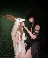 The Wolf and the Halla by Refinition