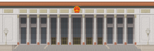 Great Hall of the People by Herbertrocha