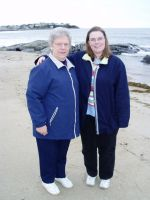 Grandma and I at the Altantic by lilly-peacecraft