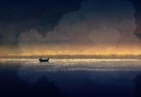 Pop and I go fishing,,but not really by PascalCampion