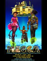 MECCA Con Poster by 133art