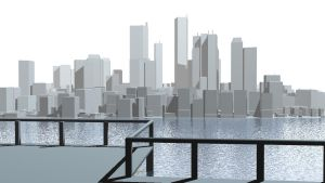 City View Sketch 1 by externible