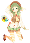 Render- Gumi Megpoid by KillerJeff234