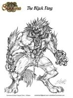 BlackFang Full Form by CdubbArt