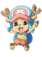 One Piece: Chopper Chibi by Kanokawa