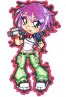 design for t-shirts : PSP GAMER GIRL by project-fallen-angel