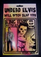 UNDEAD ELVIS Bootleg Action Figure by Coffin-kiss