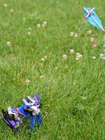 Flying a Kite 2 by Dellessanna