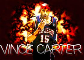 Vince Carter Fire Blast by ryancurrie
