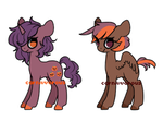 Open - Two pony adopts by Carnivvorous