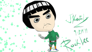 Rock Lee by sonicJKevin