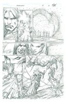 Darkness - Issue 5 Page 2 by MichaelBroussard